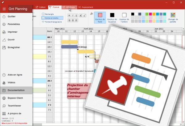 Logiciel Gantt Planning de chantiers pour vos projects